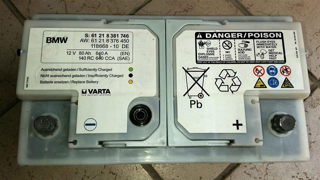 bmw e90 batteria